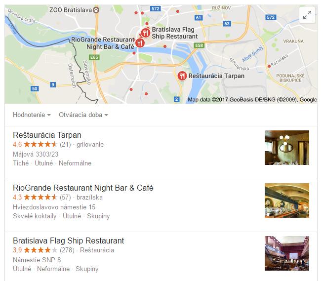 Lokálne výsledky vyhľadávania - Audito.sk