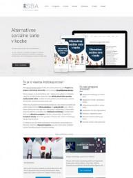 Webstránka pre Slovak Business Agency