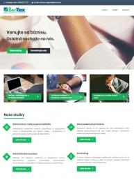 Tvorba webstránky bentax.sk - audito