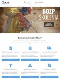 Tvorba webstránky bozp-skolenia.sk